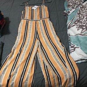 Full length pants jumpsuit